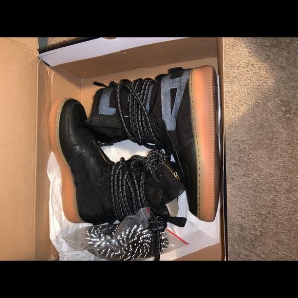 Nike Shoes Sf Air Force 1 High Black Gum Poshmark